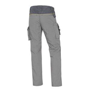 DeltaPlus Mach werkbroek - Ripstop Polyester-katoen L grijs 2