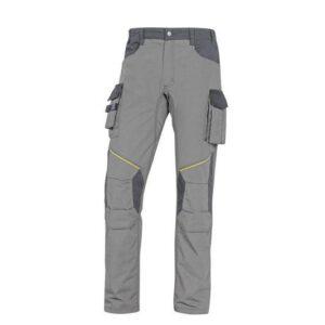 DeltaPlus Mach werkbroek - Ripstop Polyester-katoen L grijs