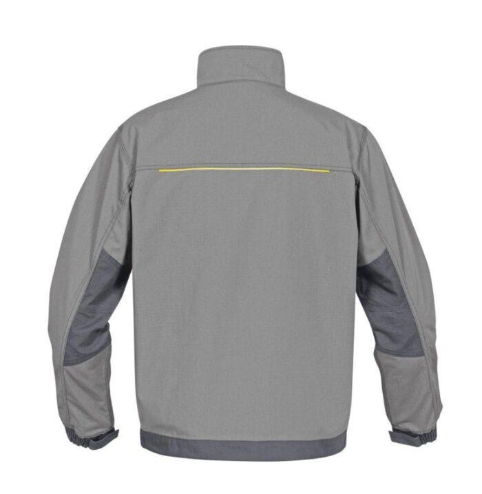 DeltaPlus Mach werkjas - Ripstop Polyester-katoen grijs 0