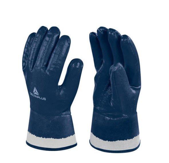 DeltaPlus Nitril handschoen olie-vetten geheel gecoat