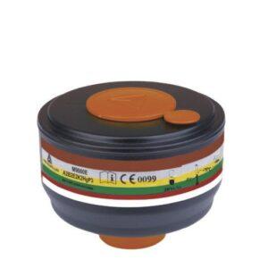 DeltaPlus Vol gelaatsmasker 4x filterpatroon A2-B2-E2-K2-HG-P3