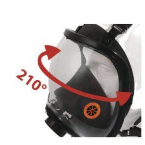 DeltaPlus Vol gelaatsmasker met afstelriemen M9300 3