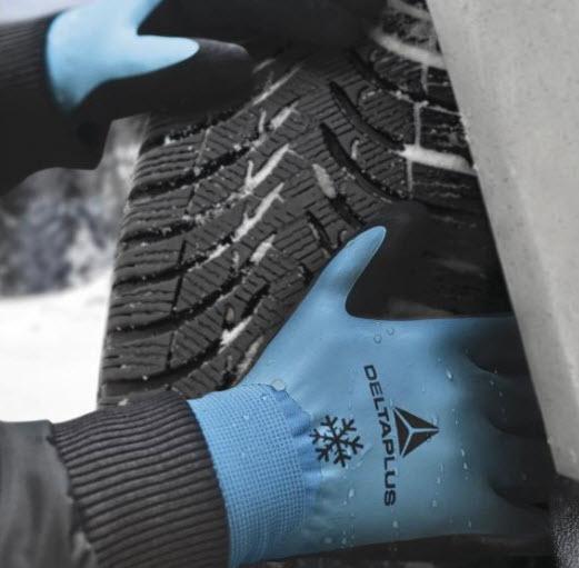 DeltaPlus Winter handschoen acryl-polyamide met schuim 1