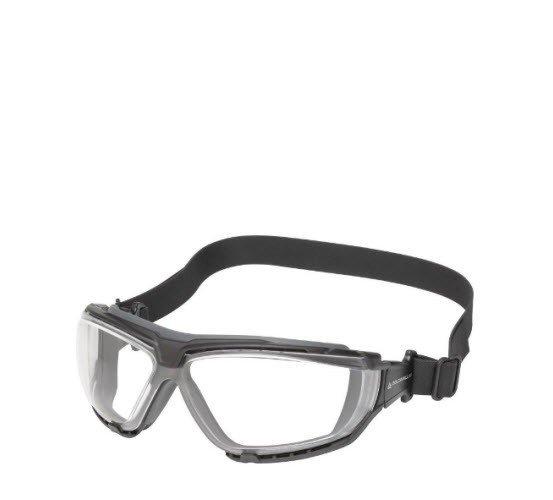 DeltaPlus bril Polycarbonaat TPE dichting - helder met band
