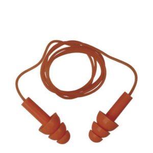 DeltaPlus herbruikbare oordopjes met PVC koord