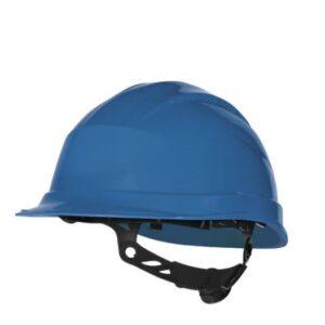 DeltaPlus veiligheid bouwhelm met rotorsluiting blauw
