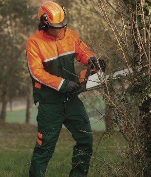 DeltaPlus zaagbroek- bosbouwbroek snijbestendig (EN381-1995) 2