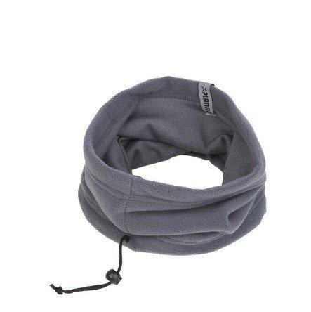 Planam fleece nekverwarmer gesloten (6047) grijs