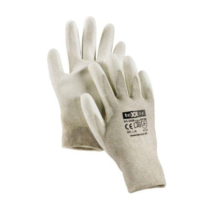 TeXXor ESD (electrostatisch) gebreide handschoenen