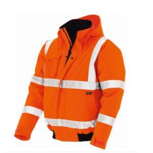 TeXXor Hi-Vis Pilotjack Whistler oranje