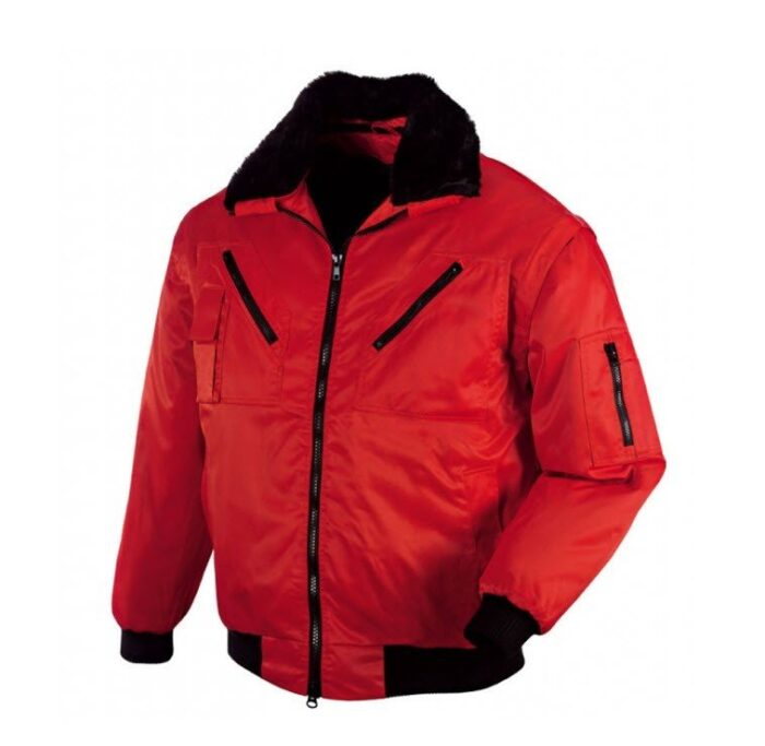TeXXor Pilotjack afritsmouw Oslo 4in1 rood
