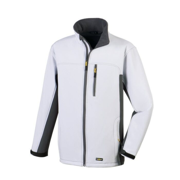 TeXXor gevoerde softshell jas Skagen wit