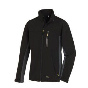 TeXXor gevoerde softshell jas Skagen zwart