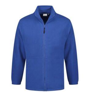 Santino Bormio Fleecejack lange mouwen +Rits blauw