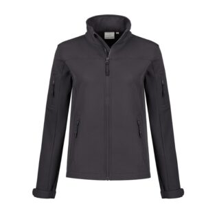 Santino Santo Dames Softshell stretch antraciet
