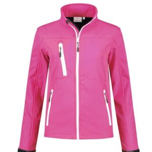 Santino Soul Dames Softshell stretch ROZE