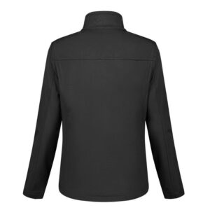 Santino Soul Dames Softshell stretch ZWART 2