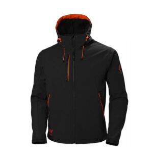 Helly Hansen Chelsea Evolution Hooded softshell (305 gr-m2) zwart 2