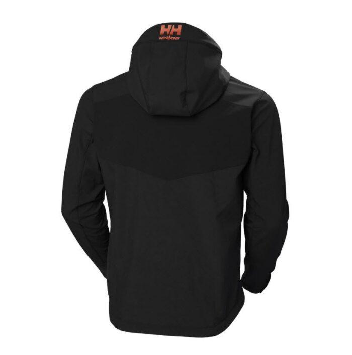 Helly Hansen Chelsea Evolution Hooded softshell (305 gr-m2) zwart