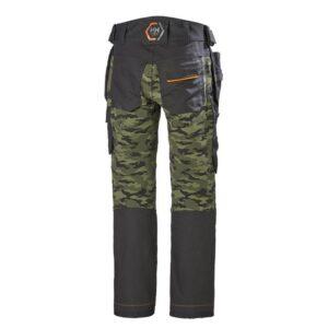 Helly Hansen Chelsea Evolution werkbroek + smartpocket camouflage b