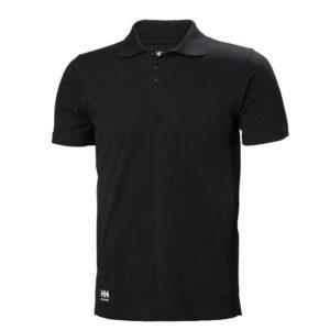 Helly Hansen Manchester Polo shirt zwart