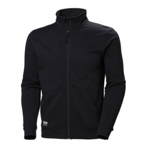 Helly Hansen Manchester Zip Sweater zwart