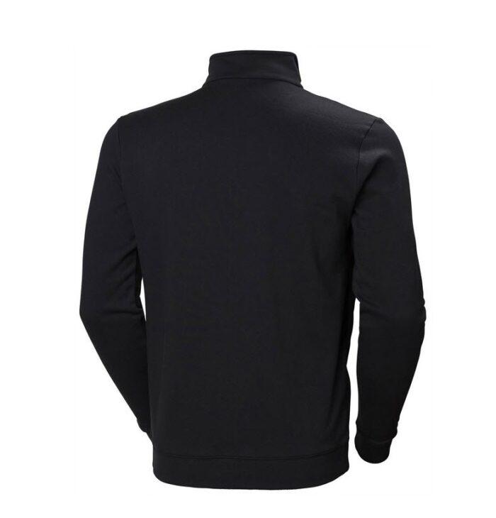 Helly Hansen Manchester Zip Sweater zwart b