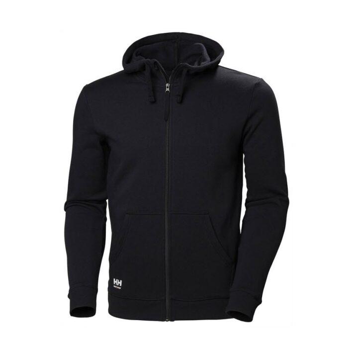 Helly Hansen Manchester Zip hoodie zwart