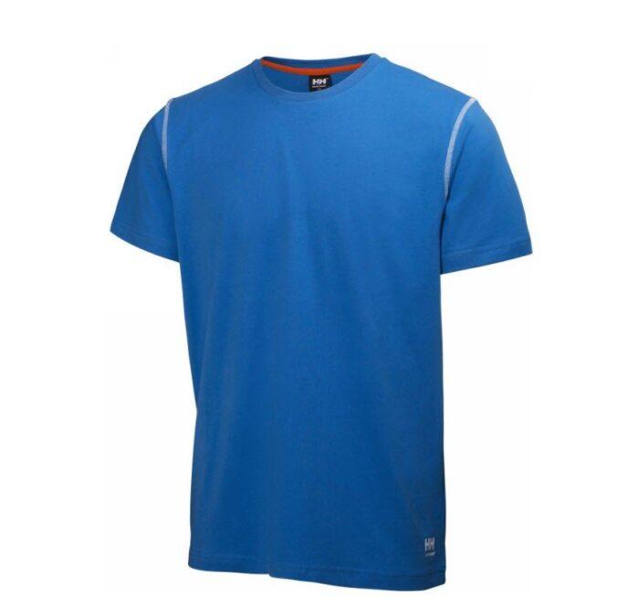 Helly Hansen Oxfort T-shirt (200gr-m2) blauw