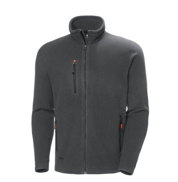 Helly Hansen Oxfort fleece jacket (251gr-m2) antraciet