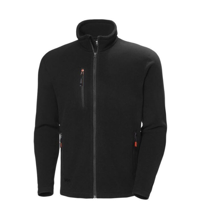 Helly Hansen Oxfort fleece jacket (251gr-m2) zwart