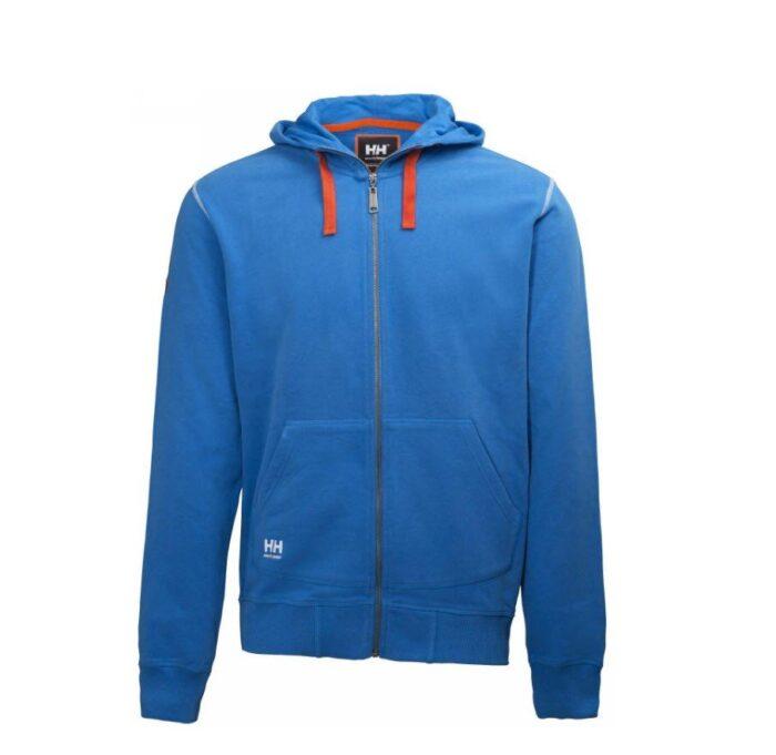 Helly Hansen Oxfort hoodie (310gr-m2) blauw