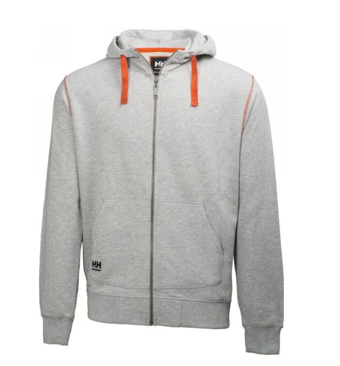 Helly Hansen Oxfort hoodie (310gr-m2) grijs