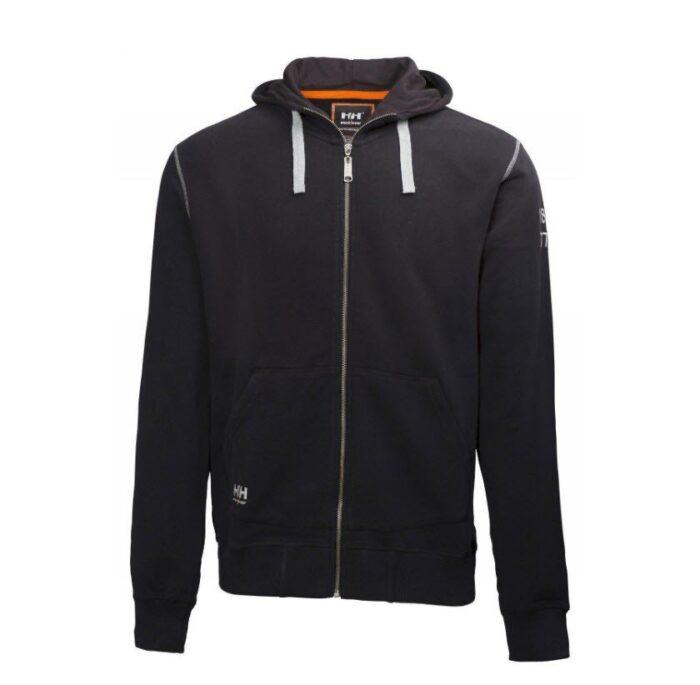 Helly Hansen Oxfort hoodie (310gr-m2) zwart