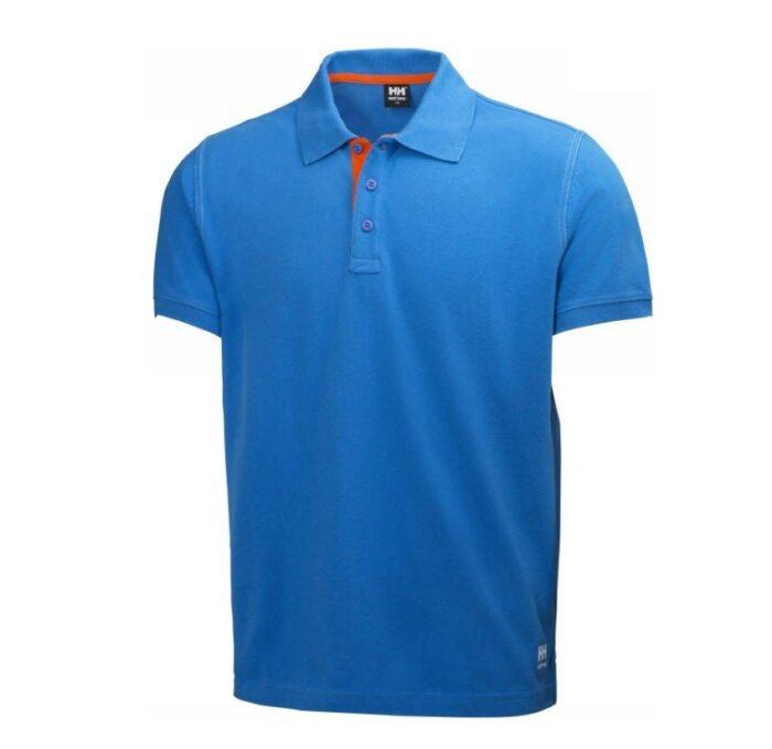 Helly Hansen Oxfort polo (210gr-m2) blauw
