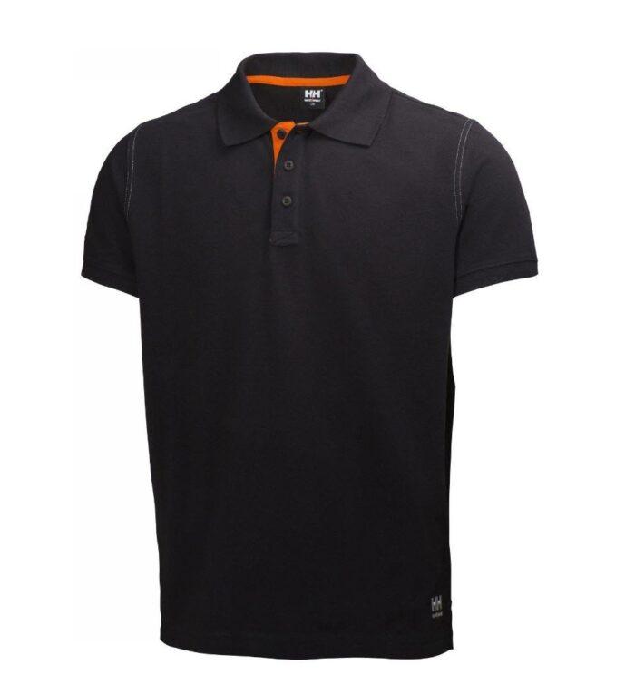 Helly Hansen Oxfort polo (210gr-m2) zwart