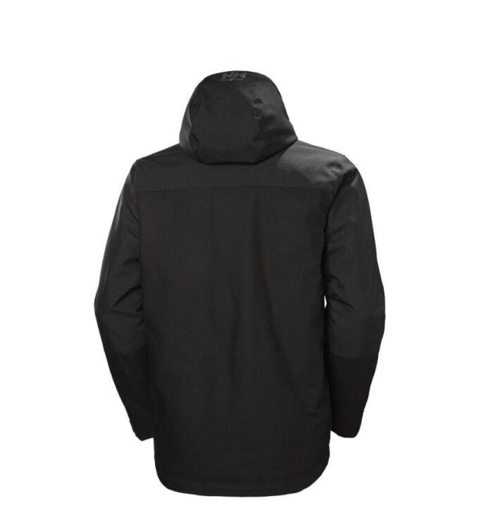 Helly Hansen Oxfort softshell winter jas zwart b