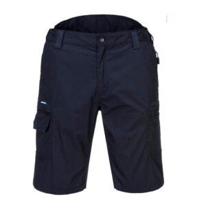 PortWest KX3 Ripstop korte broek marine