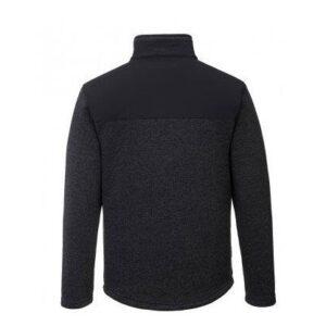 PortWest KX3 fleece jas antraciet 2