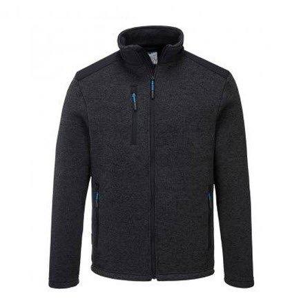 PortWest KX3 fleece jas antraciet