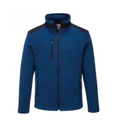 PortWest KX3 fleece jas blauw