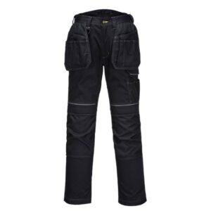 PortWest PW3 werkbroek Kingsmill + pockets zwart