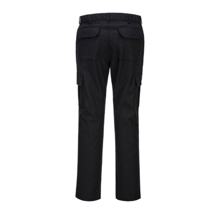 PortWest Slim stretch werkbroek Combat™ zwart b