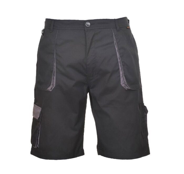 PortWest korte broek Texo contract 2color zwart-grijs