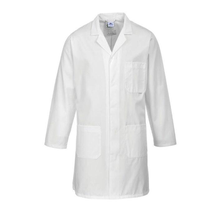 PortWest standaard stofjas wit