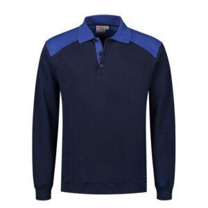 Santino Tesla 2color Polo-sweater (280gm2) 1marine-blauw