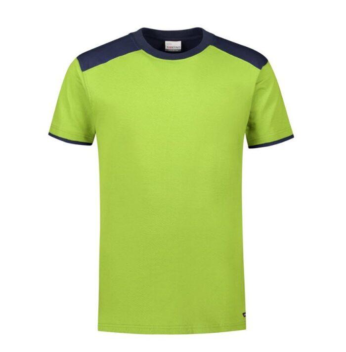 Santino Tiesto 2color T-shirt (190gm2) limegroen