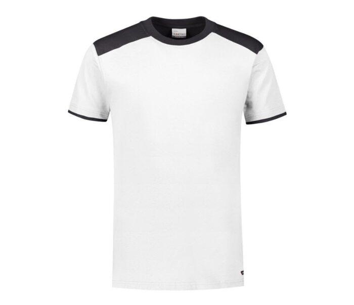 Santino Tiesto 2color T-shirt (190gm2) ziw-zwart