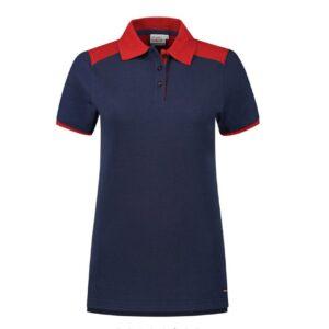 Santino Tivoli 2color Dames Polo-shirt (210gm2) marine rood
