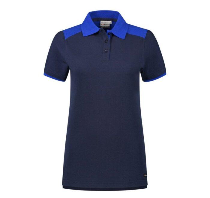 Santino Tivoli 2color Dames Polo-shirt (210gm2) marineblauw